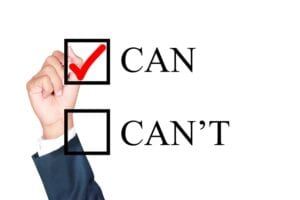Can or Can't