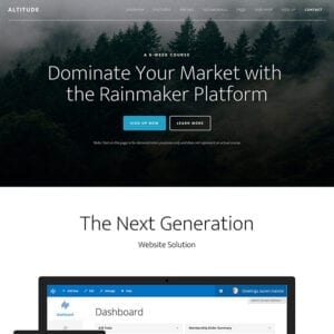 StudioPress Premium WordPress Theme Altitude Pro