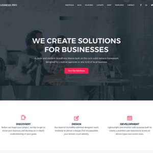 StudioPress Business Pro WordPress Theme